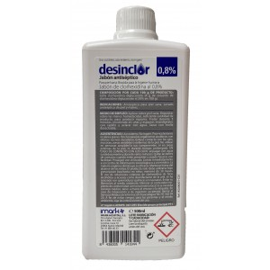 DESINCLOR JABON 0.8% 500 ML (TRANSPARENTE)