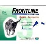 FRONTLINE SPOT ON GATOS 3 PIPETAS