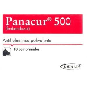 PANACUR 500MG. 10 COMP.