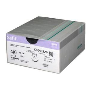 SUTURA SAFIL 4/0 DS16 45 CM
