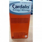 CARDALIS M 5MG/40MG 30 COMPRIMIDOS
