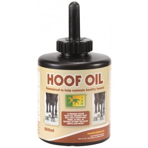 HOOF OIL C/BROCHA 800 ML ACEITE CASCOS