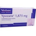 YPOZANE 1,875MG 7 COMPPERRO MENOS DE 7,5KG