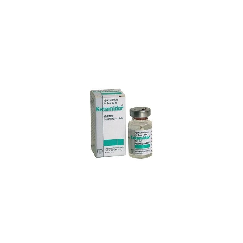 KETAMIDOR 100MG/ML 10ML