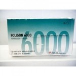 FOLIGON 6000 UI X 1 + DILUYENTE 50ML*