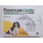 FRONTLINE COMBO SPOT PERR.2-10KG 3 PIPETAS