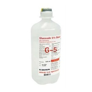 SUERO GLUCOSADO 5% 1L(GLUCOSAVET)