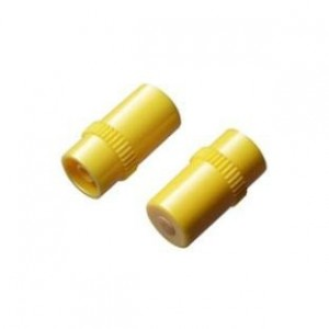TAPON INYECCION AMARILLO LUER LOCK