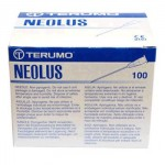AGUJA TERUMO NEOLUS 0.8X25-21G  VERDE 100UD.